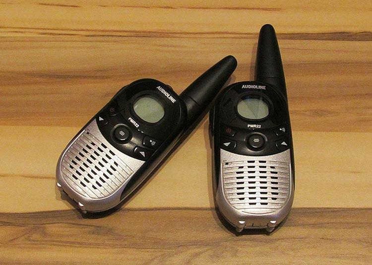 talkie walkie prix
