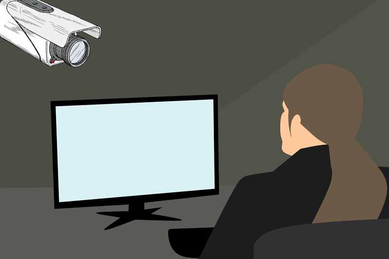test camera de surveillance