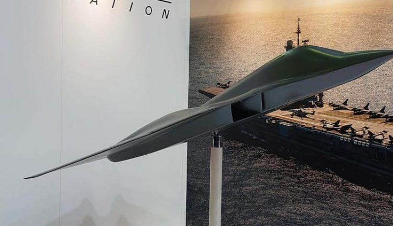 La France dévoile son modèle d'avion de combat nouvelle génération