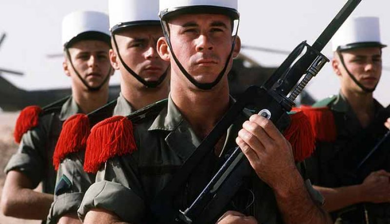 Les grades de l'Armée Française